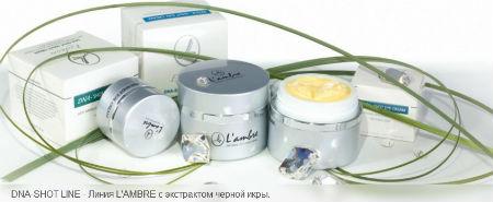 косметическая линия средств для ухода за кожей DNA-SHOT парфюмерно-косметической компании Ламбре (Lambre)