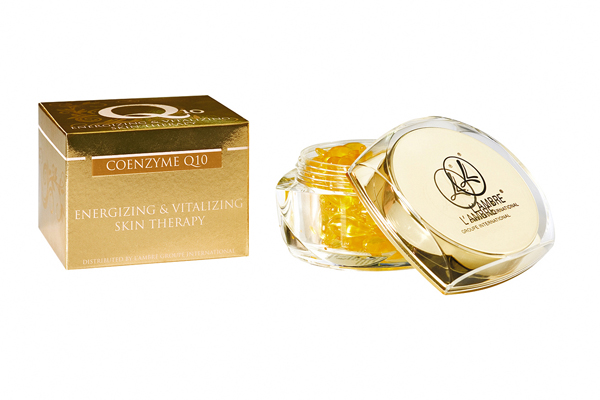 Препарат COENZYME Q10 косметической линии средств для ухода за кожей INTENSIVE парфюмерно-косметической компании Ламбре (L'ambre)