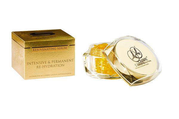 Омолаживающая сыворотка SERUM косметической линии средств для ухода за кожей INTENSIVE парфюмерно-косметической компании Ламбре (L'ambre)