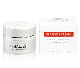 Восстанавливающий крем для кожи вокруг глаз для всех типов кожи косметической линии средств для ухода за кожей PEARL парфюмерно-косметической компании Ламбре (L'ambre)